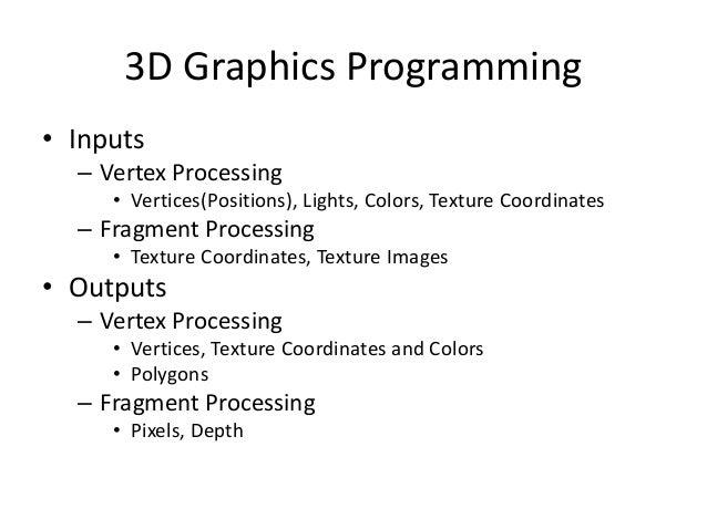 OpenGL Shading Language Slide 3