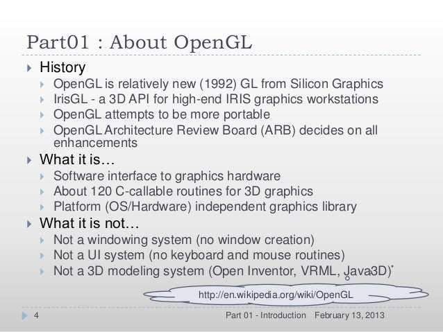 introduction to opengl Lect3-introduction to opengl lect3-introduction to opengl_英语学习_外语学习_教育专区。introduction to opengl 授课教师:陈正鸣单位:计信学院 主要内容 opengl 简介.