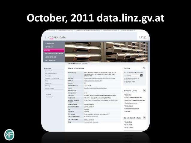 October, 2011 data.linz.gv.at
