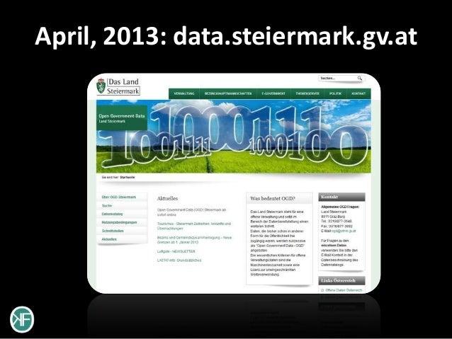 April, 2013: data.steiermark.gv.at