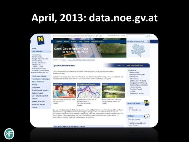 April, 2013: data.noe.gv.at