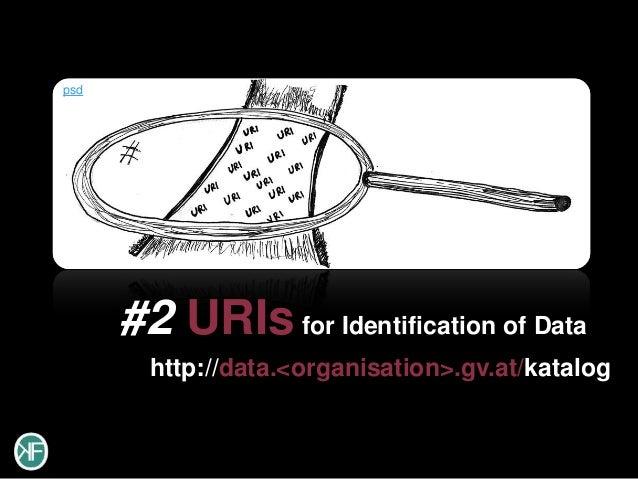 psd      #2 URIs for Identification of Data        http://data.<organisation>.gv.at/katalog