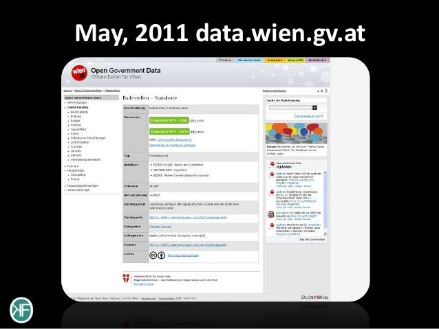 May, 2011 data.wien.gv.at