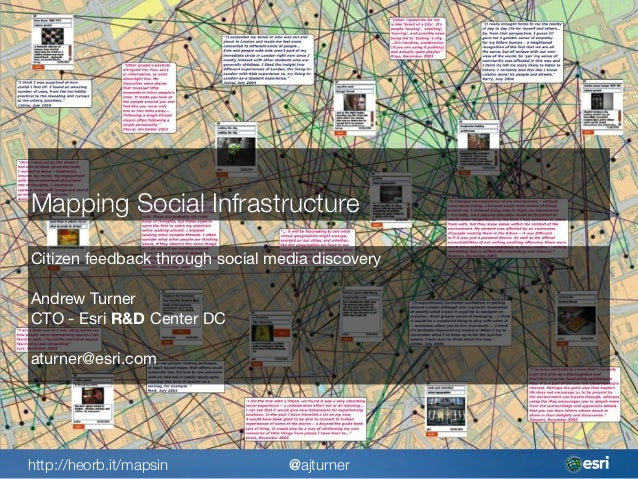 Opengovhub Mapping Social Infrastructure With Social Media