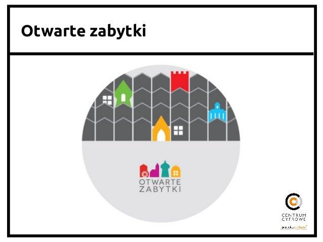 OtwarteDane.pl 2013: wyzwania   • Niska ufność administracji publicznej wobec otwartości • Niskie zainteresowanie oby...