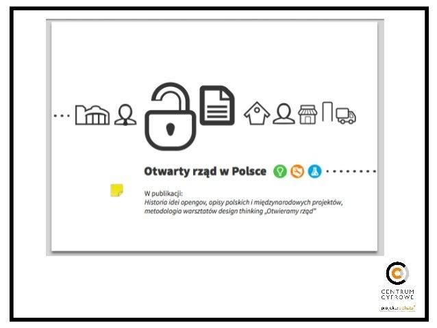 Otwarte dane - surowce publiczne dla rozwoju gospodarki, społeczeństwa i kultury