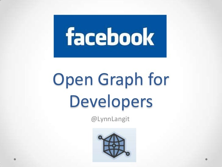 Getting started with Facebook OpenGraph API