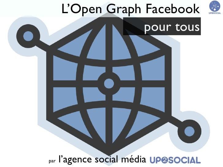 L'Open Graph Facebook                   pour touspar   l'agence social média