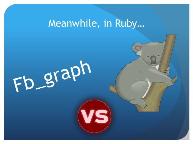 ¿Why the Open Graph?