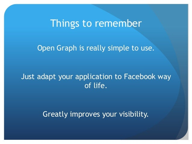 One graph to rule them all - Facebook