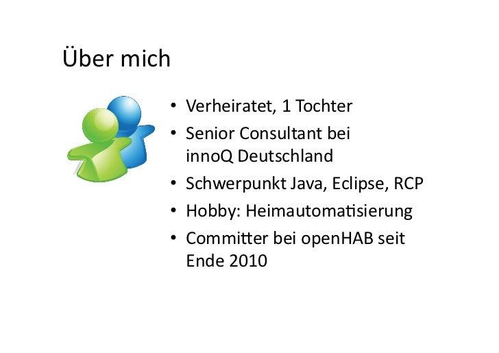openHAB @ KNX Stammtisch NRW