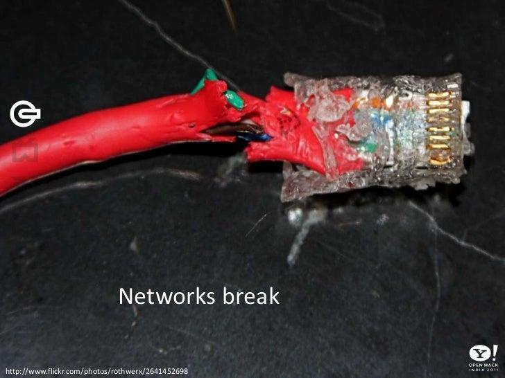 Networks break <br />http://www.flickr.com/photos/rothwerx/2641452698<br />
