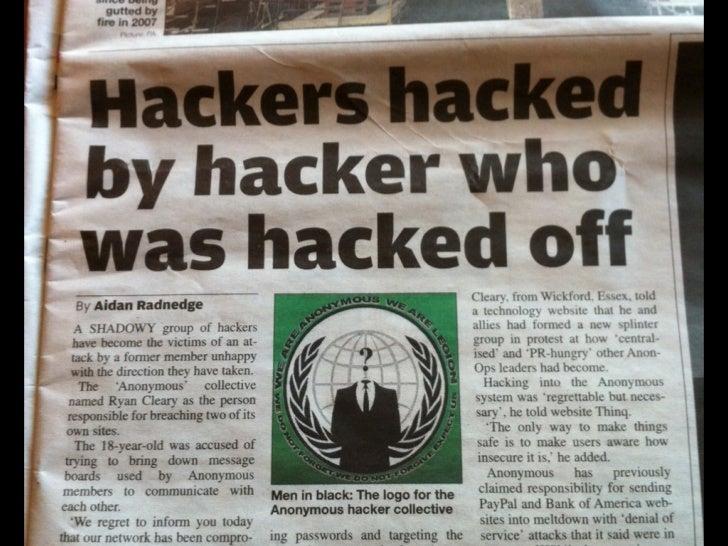Hacker != Cracker