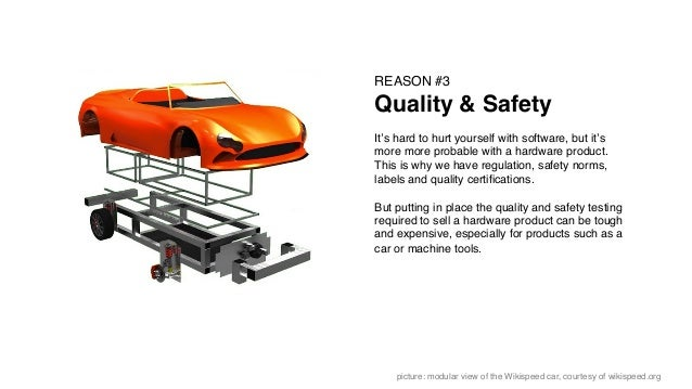 REASON #3! Quality & Safety! ! It's hard to hurt yourself with software, but it's more more probable with a hardware produ...