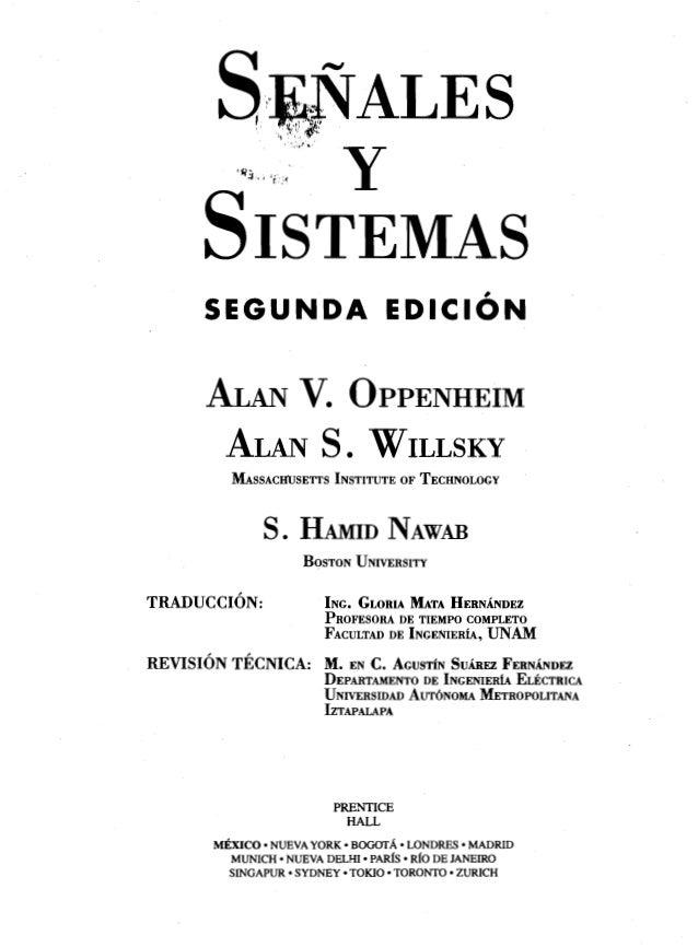 Openheim signales and sistemas