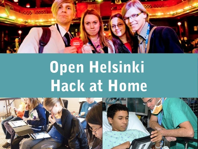 Open HelsinkiHack at Home