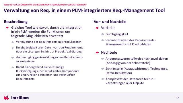 Gleiches Tool wie davor, durch die Integration in ein PLM werden die Funktionen um folgende Möglichkeiten erweitert: Verkn...