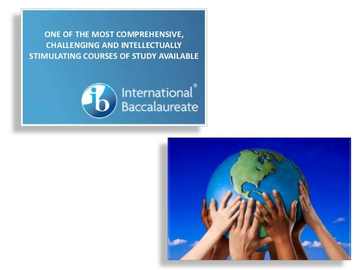 ONE OF THE MOST COMPREHENSIVE,    CHALLENGING AND INTELLECTUALLYSTIMULATING COURSES OF STUDY AVAILABLE