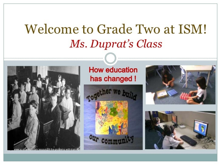 Welcome to Grade Two at ISM!                                                       Ms. Duprat's Class                     ...
