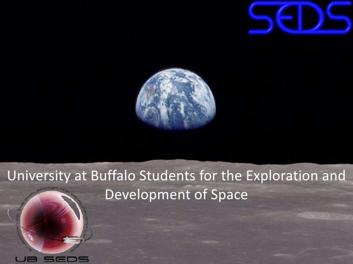University at Buffalo Students for the Exploration and Development of Space<br />