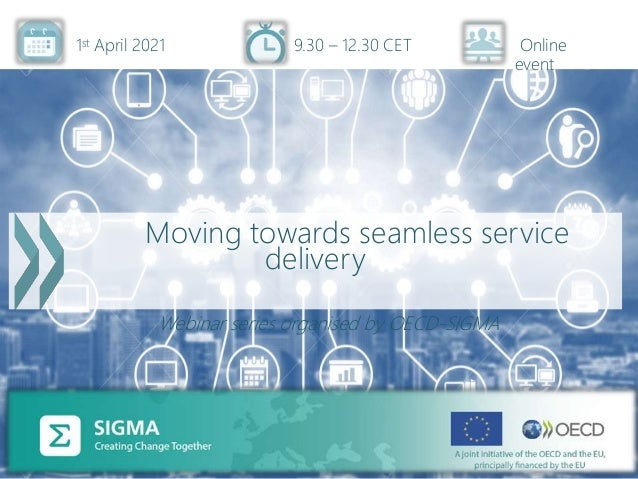 Opening remarks, Nick Thijs, life events in public service delivery, SIGMA, 1 April 2021