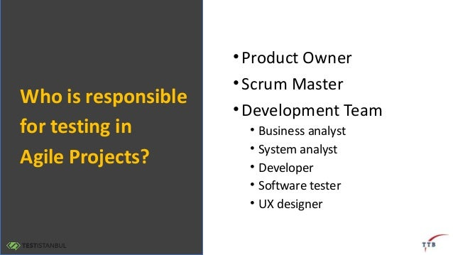 """Testistanbul 2017 - Opening Speech: """"Sailing Teams and Agile Teams: Who is responsible for testing in  Agile Projects?"""" by Koray Yitmen Slide 2"""