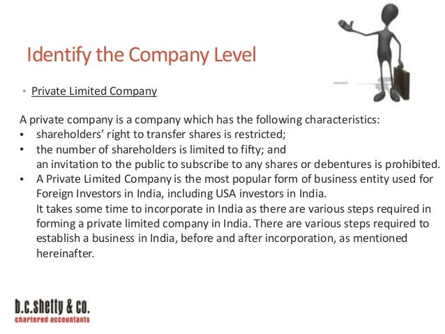 Opening New Company In India