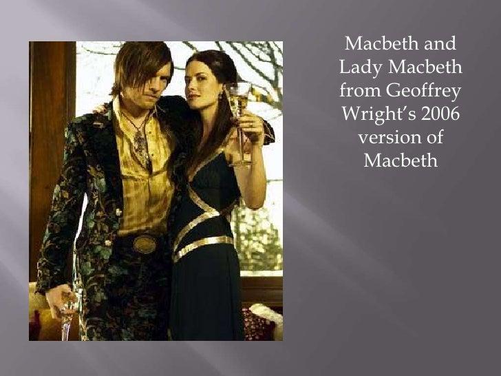 Macbeth and Lady Macbeth from Geoffrey Wright's 2006 version of Macbeth <br />