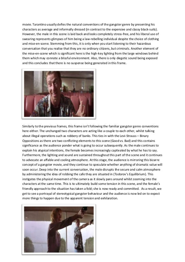 critical essays on pulp fiction Putting the pulp in pulp fiction  few films have gained such universal critical acclaim  reel food: essays on food and film.