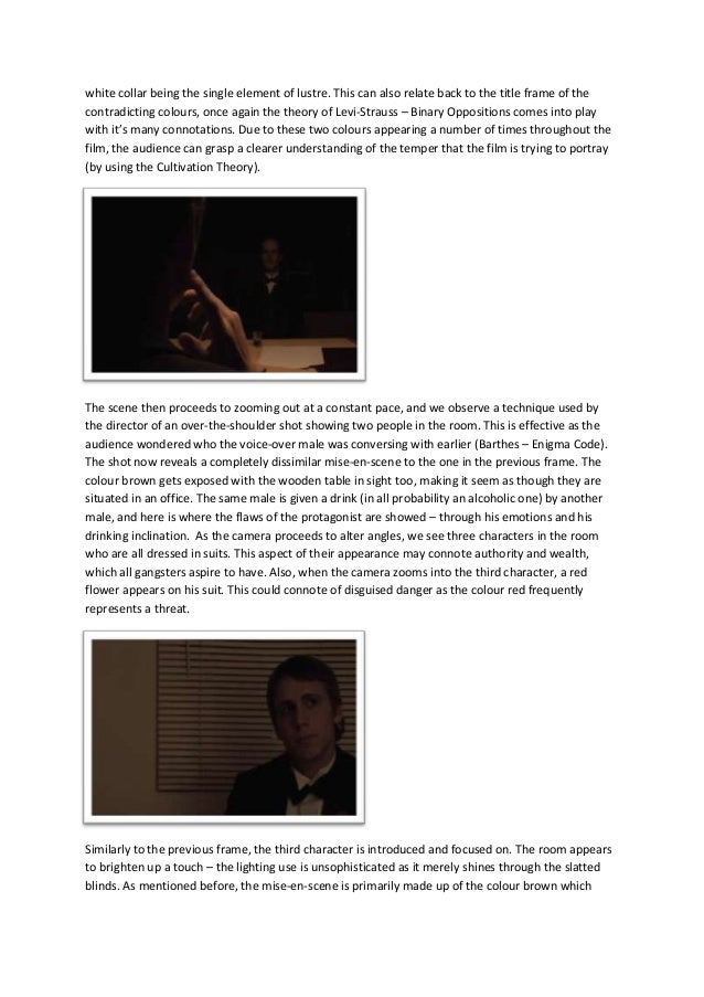 an analysis of the opening of the scene in the godfather Shot analysis: the godfather july 23, 2015 james chiang the greatest film ever to many people's eyes masterful scenes, like this opening from the godfather.