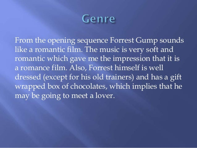 opening sequence analysis of forrest gump 17