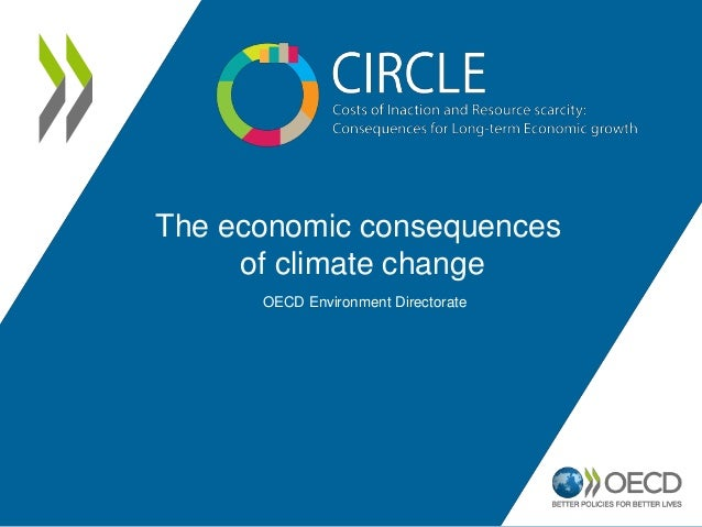 The economic consequences of climate change OECD Environment Directorate