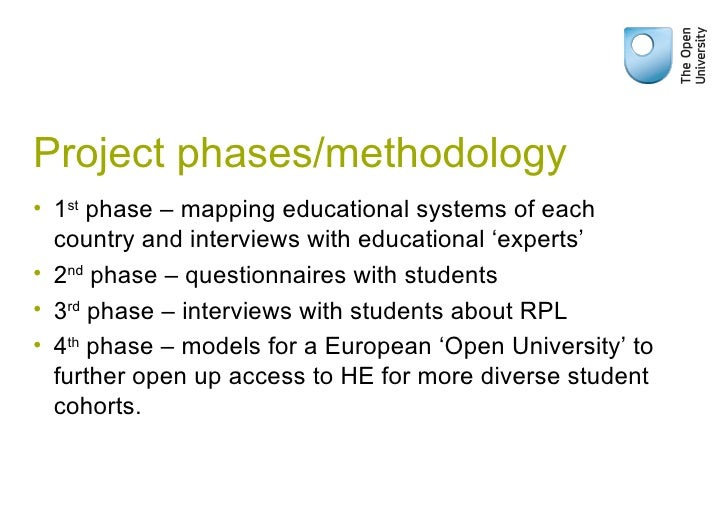 Project phases/methodology <ul><li>1 st  phase – mapping educational systems of each country and interviews with education...