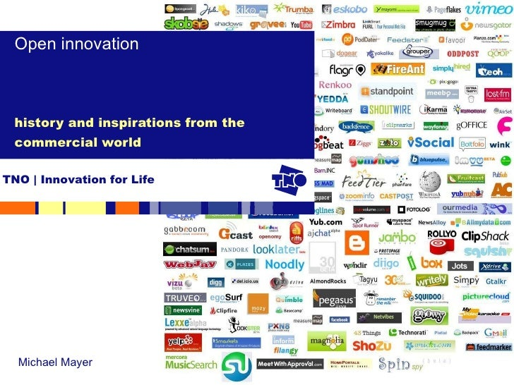 history and inspirations from the commercial world Open innovation