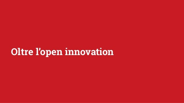 Oltre l'open innovation