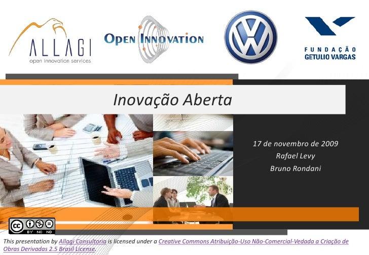 Inovação Aberta                                                                                            17 de novembro ...