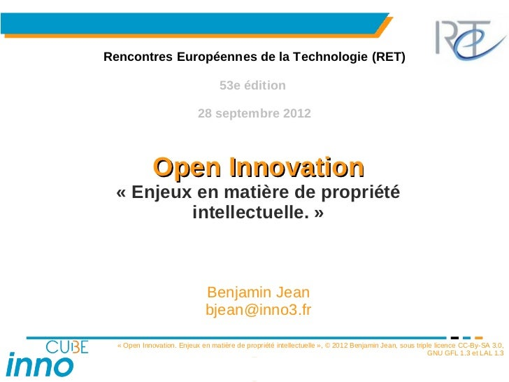 Rencontres Européennes de la Technologie (RET)                                  53e édition                           28 s...