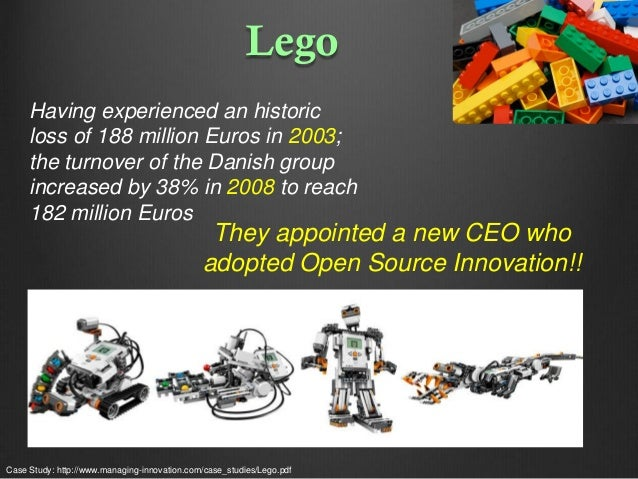 Lego Having experienced an historic loss of 188 million Euros in 2003; the turnover of the Danish group increased by 38% i...