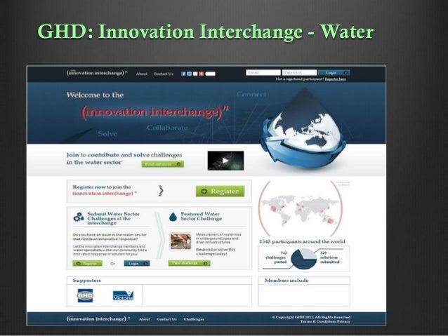 GHD: Innovation Interchange - Water