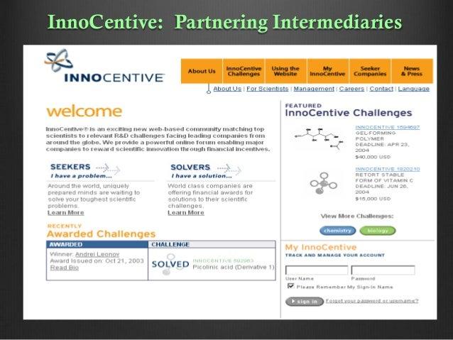 InnoCentive: Partnering Intermediaries