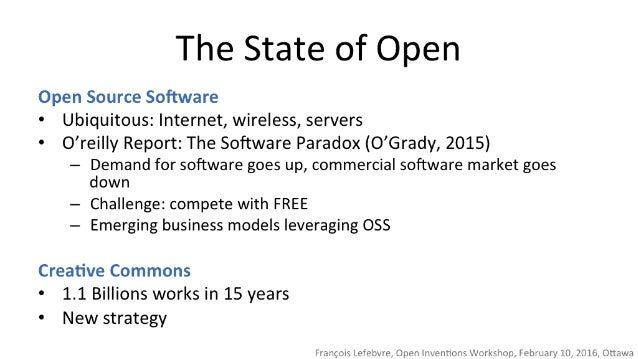 The State of Open  Open Source Software - Ubiquitous:  Internet,  wireless,  servers  ° O'rei| |y Report:  The Software Pa...