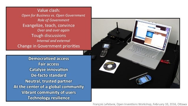>')3  Value clash:  Open for Business vs.  Open Government Role of Government  Evangelize,  teach,  convince Over and over...