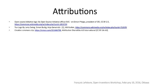 Attributions  Open source initiative logo:  By Open source Initiative official SVG — enzsimon Phipps,  president of OSI,  ...