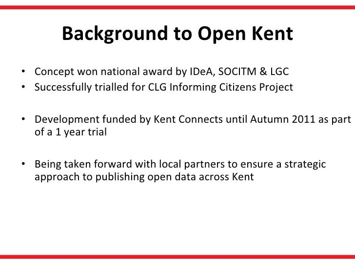 Open Kent - Local Councils  Slide 2