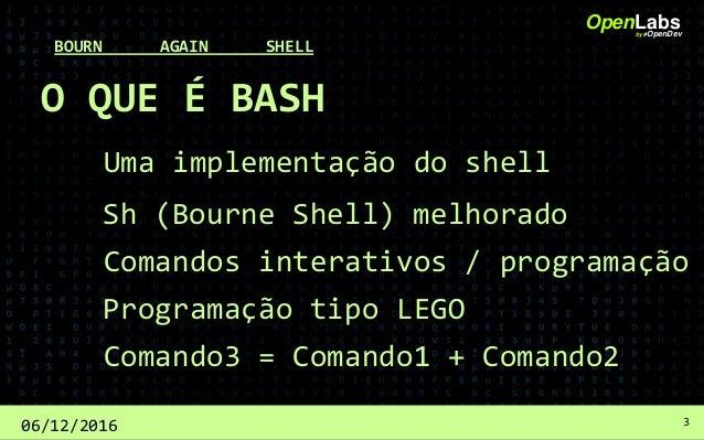 Automatizando tarefas com bash script