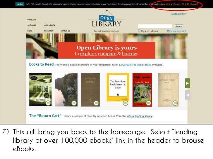 Open Library Ebook
