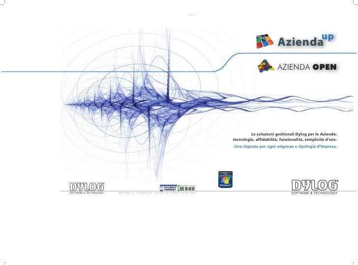 up                         Azienda                         AZIENDA OPEN              Le soluzioni gestionali Dylog per le ...