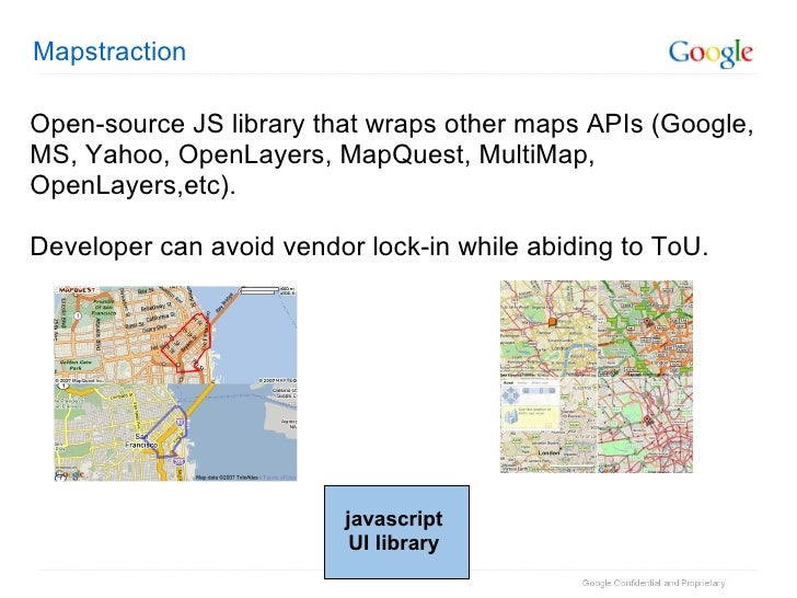 Open maps or close enough 9 mapstraction open source js library that wraps other maps gumiabroncs Choice Image
