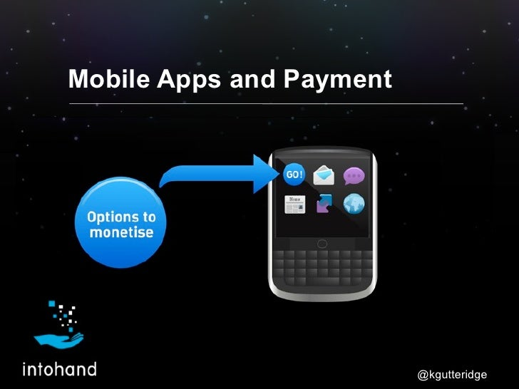 Mobile Apps and Payment                          @kgutteridge