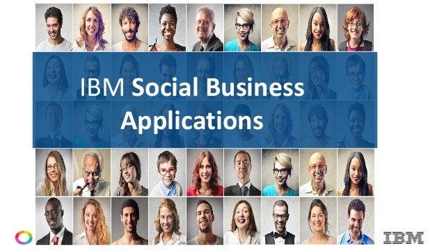 © Copyright IBM Corporation 2015© Copyright IBM Corporation 2015 IBM Social Business Applications